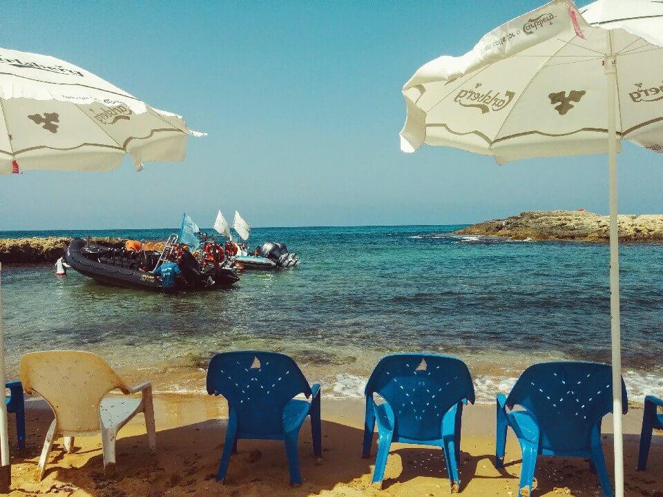 לגונה בים התיכון